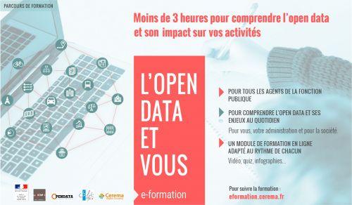 """Module de formation en ligne """"L'open data et vous"""""""